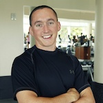 Personal trainer fitness writing James