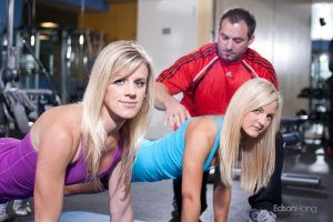 Be a personal trainer Elsbeth Vaino